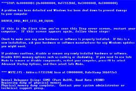 Cara Memperbaiki Blue Screen Pada Windows Dan Menganalisis Penyebab